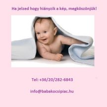 Baby Design Holiday utazóágy 02 pink