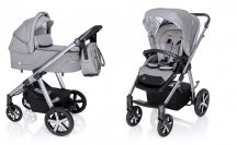 Baby Design Husky multifunkciós babakocsi + Winter Pack 2020 - Gray 07
