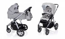 Baby Design Husky multifunkciós babakocsi + Winter Pack 2020 - Light Gray 27