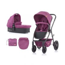 Chipolino Avia 2in1 babakocsi 2020 - Orchid Linen